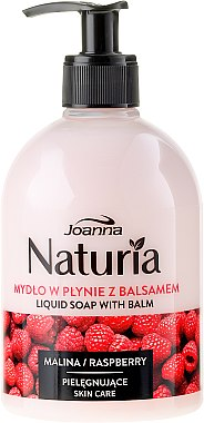 "Течен сапун ""Малина"" - Joanna Naturia Raspberry Liquid Soap"