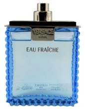 Парфюми, Парфюмерия, козметика Versace Man Eau Fraiche - Тоалетна вода (тестер без капачка)*