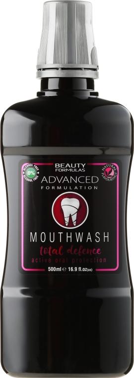 Вода за уста - Beauty Formulas Active Oral Care Mouthwash Total Defence