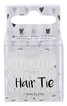 Парфюми, Парфюмерия, козметика Ластици за коса, прозрачни - Cosmetic 2K Hair Tie Clear