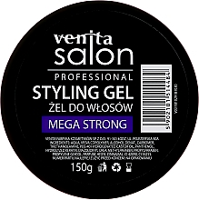 Парфюмерия и Козметика Гел за коса - Venita Salon Professional Styling Mega Strong