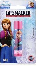 "Парфюмерия и Козметика Балсам за устни ""Frozen Strawberry"" - Lip Smacker Frozen Strawberry Shake Caring Lip Balm"