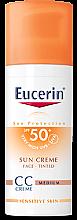 Парфюми, Парфюмерия, козметика CC Крем - Eucerin CC-creme Sunscreen for face SPF 50+