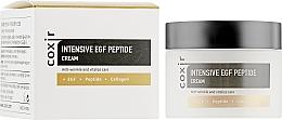 Парфюмерия и Козметика Интензивен антистареещ пептиден крем за лице - Coxir Intensive EGF Peptide Cream