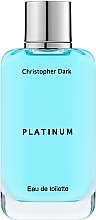 Парфюмерия и Козметика Christopher Dark Platinum - Тоалетна вода