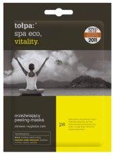 Парфюми, Парфюмерия, козметика Маска-пилинг за тяло - Tolpa Eco Spa Vitality Refreshing Renewing Peeling-Mask Sachet