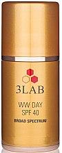 """Парфюми, Парфюмерия, козметика Дневен крем за лице """"Без бръчки"""" - 3Lab WW Day Cream SPF40"""