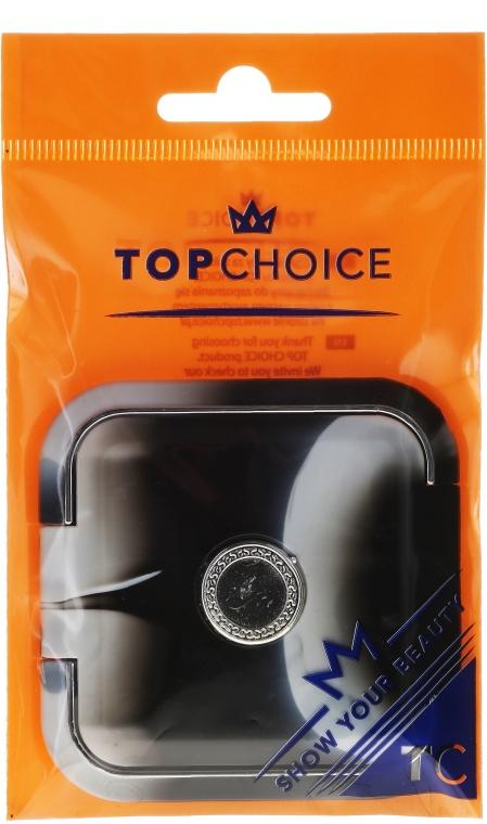 Компактно огледалце 5541, черно-бяло - Top Choice
