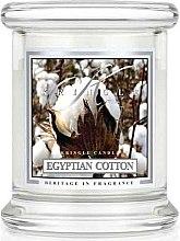 Парфюми, Парфюмерия, козметика Ароматна свещ в бурканче - Kringle Candle Egyptian Cotton