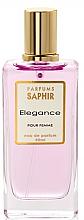 Парфюмерия и Козметика Saphir Parfums Elegance - Парфюмна вода (тестер с капачка)