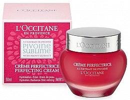 Парфюми, Парфюмерия, козметика Крем за лице - L'Occitane Pivoine Sublime Perfecting Cream