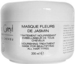 Парфюмерия и Козметика Маска грижа за косата с жасмин - Leonor Greyl Masque Fleurs De Jasmin