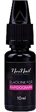 Парфюмерия и Козметика Черна боя за Rapidograph - NeoNail Professional Black Ink For Rapidograph