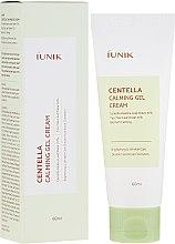 Парфюмерия и Козметика Успокояващ крем-гел за лице с Готу кола - IUNIK Centella Calming Gel Cream