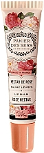 Парфюмерия и Козметика Балсам за устни с масло от ший и аромат на роза - Panier des Sens Lip Balm Shea Butter Rose Nectar