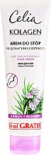 Парфюмерия и Козметика Подхранващ крем за крака - Celia Collagen Foot Cream