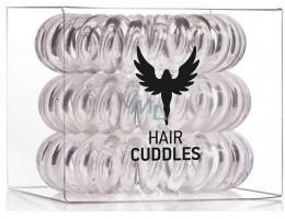 Силиконов ластик за коса, безцветен - HH Simonsen Hair Cuddles Clear