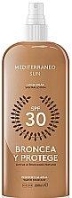 Парфюми, Парфюмерия, козметика Спрей за тен - Mediterraneo Sun Suntan Lotion SPF30