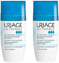Парфюми, Парфюмерия, козметика Комплекти - Uriage Power 3 Deodorant (deo/50ml + deo/50ml)