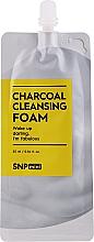 Парфюмерия и Козметика Почистваща пяна за лице с активен въглен - SNP Mini Carcoal Cleansing Foam (мини)