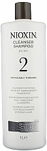 Парфюмерия и Козметика Почистващ шампоан - Nioxin Thinning Hair System 2 Cleanser Shampoo