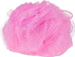 Парфюмерия и Козметика Гъба за баня в розов цвят - IDC Institute Design Mesh Pouf Bath Sponges