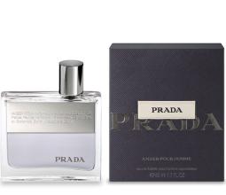 Парфюмерия и Козметика Prada Amber Pour Homme - Тоалетна вода