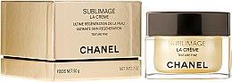 Парфюми, Парфюмерия, козметика Антистареещ крем с лека текстура - Chanel Sublimage La Creme Texture Fine