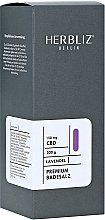 Парфюмерия и Козметика Соли за вана с аромат на лавандула - Herbliz CBD