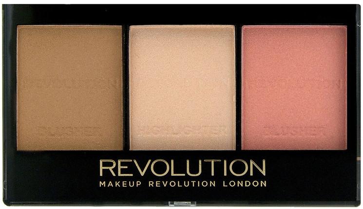 Контуриращ комплект за лице - Makeup Revolution Ultra Sculpt&Contour Kit
