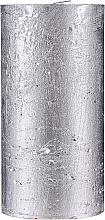 Парфюмерия и Козметика Натурална свещ, 15 см - Ringa Silver Glow Candle