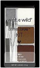 Парфюмерия и Козметика Комплект за вежди - Wet N Wild Ultimate Brow Kit