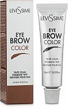 Парфюмерия и Козметика Боя за вежди - LeviSsime Eye Brow Color