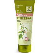 Парфюми, Парфюмерия, козметика Крем за крака за суха и напукана кожа с екстракт лечебна ружа - O'Herbal Foot Cream Dry And Cracked Heels With Althaea Extract