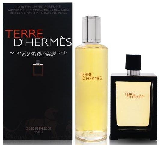 Hermes Terre d'Hermes - Комплект (парфюмна вода/30ml + парфюмна вода/125ml)