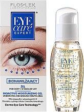 Парфюмерия и Козметика Биоактивен хидратиращ околоочен гел - Floslek Eye Care Bioactive Moisturizing Gel Under Eyes And Around Mouth Area