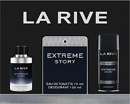 Парфюмерия и Козметика La Rive Extreme Story - Комплект (edt/75ml + deo/150ml)