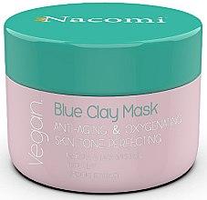 Парфюми, Парфюмерия, козметика Антистарееща маска за лице със синя глина - Nacomi Blue Clay Mask Anti-Aging