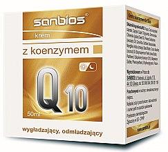 Парфюмерия и Козметика Крем за лице с коензим Q10 - Sanbios Coenzyme Q10 Cream