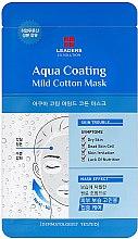 Парфюми, Парфюмерия, козметика Хидратираща маска за лице - Leaders Ex Solution Aqua Coating Mild Cotton Mask