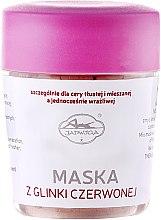 Парфюми, Парфюмерия, козметика Маска за лице с червена глина - Jadwiga Face Mask