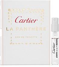 Парфюмерия и Козметика Cartier La Panthere Eau de Toilette - Тоалетна вода (мостра)