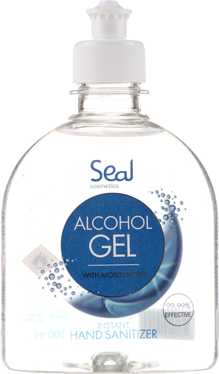Антибактериален гел за ръце - Seal Cosmetics Alcohol Gel Hand Sanitizer