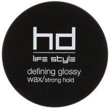 Парфюмерия и Козметика Гланц восък силна фиксация - Farmavita HD Defining Glossy Wax/Strong Hold