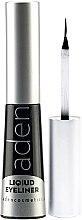 Парфюми, Парфюмерия, козметика Водоустойчива очна линия - Aden Cosmetics Liquid Eyeliner