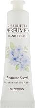 Парфюмерия и Козметика Крем за ръце - Skinfood Shea Butter Perfumed Hand Cream Jasmine Scent
