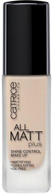 Дълготраен матиращ фон дьо тен - Catrice All Matt Plus Shine Control Make Up — снимка N1