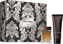 Парфюмерия и Козметика Dolce & Gabbana The One for Men - Комплект (тоал. вода/50ml + афтър. балсам/75ml)