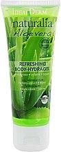 Парфюмерия и Козметика Хидратиращ и освежаващ гел за тяло - Ideal Derm Naturalia Aloe Vera Refreshing Body-Hydragel