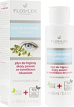 Парфюмерия и Козметика Хигиеничен флуид за клепачи с екстракт от очанка - Floslek Eyebright Eyelid Hygiene Liquid
